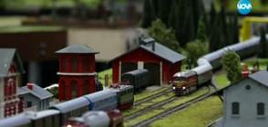 Легендарни влакове - на изложение на моделисти (ВИДЕО)