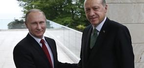 Путин и Ердоган: Русия и Турция ще разширят партньорството си