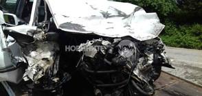 ЧЕЛЕН УДАР: Трима загинаха при катастрофа край Малиново (ВИДЕО+СНИМКИ)