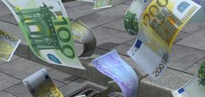 Моторист разпиля хиляди евро на шосе в Германия