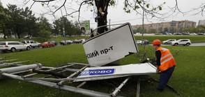14 загинали и близо 150 души в болница след урагана в Москва (ВИДЕО+СНИМКИ)