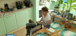 Откраднаха количката на момче с церебрална парализа (ВИДЕО+СНИМКА)