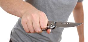 26-годишен нападна с нож полицай