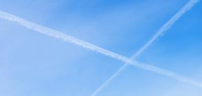Тровят ли ни следите, които оставят самолетите в небето?