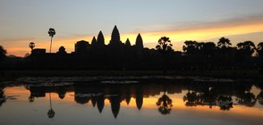 """Без багаж"" в Ангкор Ват"