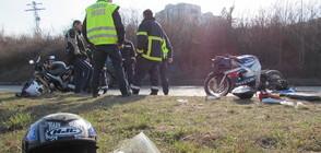 Мотористи загинаха при челен удар край Петрич