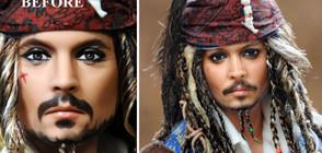 Холивудските знаменитости и техните кукли-двойници (ГАЛЕРИЯ)
