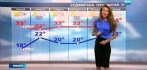 Прогноза за времето (22.06.2017 - централна)