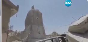 ИДИЛ публикува кадри от разрушената древна джамия в Мосул (ВИДЕО)