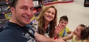 Какво е да пазаруваш с децата в магазина?