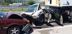 """ПРОКУРАТУРАТА: Има виновен шофьор за верижния сблъсък на """"Тракия"""""""