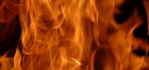 Евакуираха карнобатско село заради пожар, има пострадал (ВИДЕО)