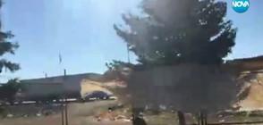Екип на NOVA - опасно близо до престрелките в Сирия (ВИДЕО)