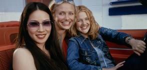 """Дрю Баримор, Камерън Диас и Луси Лиу се превръщат в """"Ангелите на Чарли"""""""