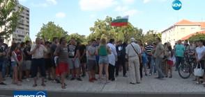 Стотици се събраха на протест в Нова Загора след поредния побой (ВИДЕО)