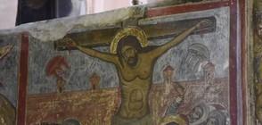 Две летящи чинии до Исус Христос на религиозна фреска? (ВИДЕО)