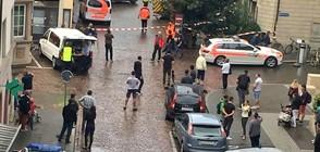 Петима са ранени при нападение с моторна резачка в Швейцария (ВИДЕО+СНИМКИ)