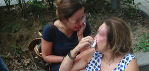 Мъже с качулки пребиха нотариус и дъщеря й в центъра на София (ВИДЕО+СНИМКИ)