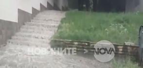 Градушка и пороен дъжд се изсипаха над Враца (ВИДЕО+СНИМКИ)