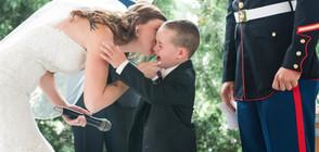 Булка даде трогателен обет на доведения си син (ВИДЕО+СНИМКИ)