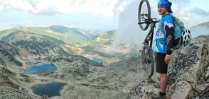 """Колоездач подобрява собствения си рекорд за велоносен поход """"Ком-Емине"""""""