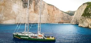 "СРЕЩУ ПЛАСТМАСАТА В ЧЕРНО МОРЕ: Кораб на ""Грийнпийс"" идва у нас"