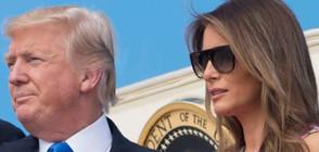 Мелания и бременната съпруга на Ерик Тръмп - стилни на визита в Охайо (СНИМКИ)
