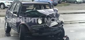 Кола се удари в автобус в София, момче е в тежко състояние (ВИДЕО+СНИМКИ)