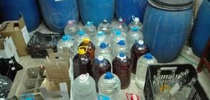 Задържаха 1658 литра алкохол от две заведения на Черноморието (ВИДЕО+СНИМКИ)