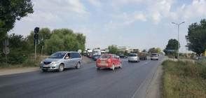 Регионалният министър проверява ремонта на пътя Асеновград-Пловдив