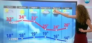 Прогноза за времето (17.08.2017 - централна)