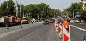 Отново промени в движението през Орлов мост (СНИМКИ)