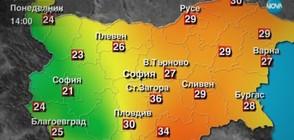 Прогноза за времето (20.08.2017 - централна)