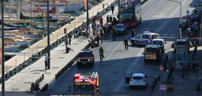 Кола се вряза в спирки в Марсилия, има загинал (ВИДЕО+СНИМКИ)