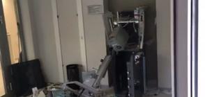 Разбиха банкомат, пари хвърчаха във въздуха (ВИДЕО+СНИМКИ)