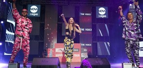 NOVA ще излъчи концерта Coca-Cola The Voice Happy Energy Tour със звездите от X Factor