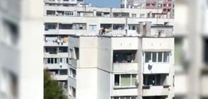"""""""Моята новина"""": Опасно ремонтиране на покриви (ВИДЕО)"""