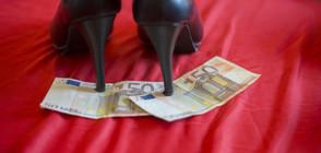 Испански проститутки на протест срещу силиконови кукли