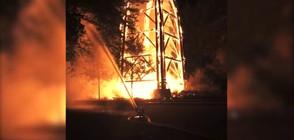 """Пожар унищожи кулата """"Гьоте"""" във Франкфурт (ВИДЕО)"""