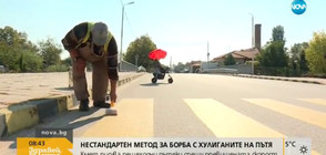 Нестандартен метод за борба с хулиганите на пътя (ВИДЕО)