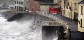 """Бурята """"Офелия"""" взе първите си жертви в Ирландия (ВИДЕО+СНИМКИ)"""