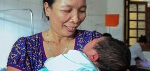 Виетнамка роди 7-килограмово бебе