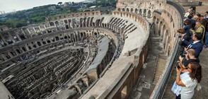 СЛЕД ДЪЛГА РЕСТАВРАЦИЯ: Отвориха горните етажи на Колизеума в Рим