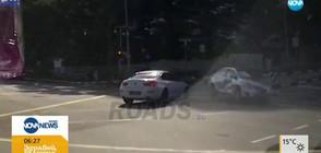 ЛЮБОПИТНО: Кола-призрак предизвика катастрофа (ВИДЕО)