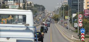 """Пътник в автобус пострада след рязко спиране на """"Цариградско шосе"""""""