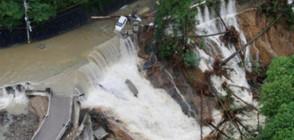 """Петима загинали и 85 ранени след тайфуна """"Лан"""" в Япония"""