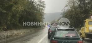 ТЕЖЪК ИНЦИДЕНТ: Два тира и бус катастрофираха на пътя София-Варна (ВИДЕО+СНИМКИ)