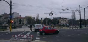 Авария затвори тунела на Лъвов мост в София