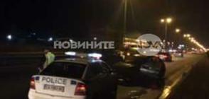 Петима пострадаха при катастрофа на Околовръстното на София (СНИМКИ)