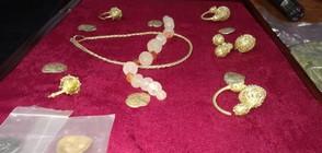 Ново златно съкровище откриха в Казанлък (ВИДЕО+СНИМКИ)